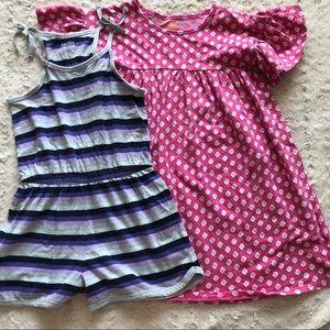 Harper Canyon Nordstrom Dress Romper 2 pc Bundle